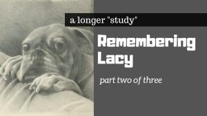 remembering lacy take 1