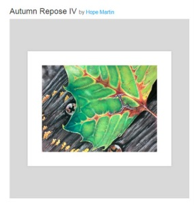 Autumn Repose IV, an art print by Hope Martin - INPRNT - Google Chrome 212019 124941 PM
